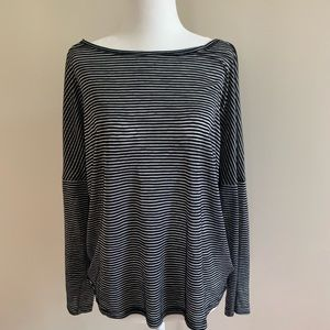 BB Dakota black striped box shirt S